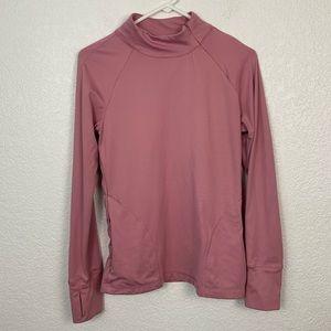 Beyond Yoga Pink Long Sleeve Top Medium